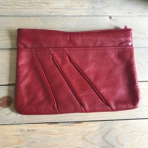 Vintage Contessa Leather Clutch
